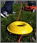 Cordpro CP100 used for electrical lawn mowers